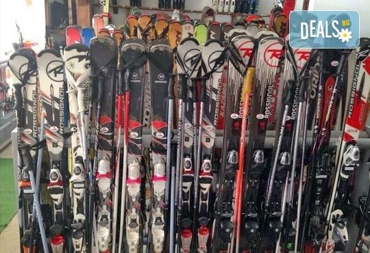 1 или 2 часа уроци по ски или сноуборд плюс оборудване за един човек от ски училище и гардероб Скиелит! - Снимка 4