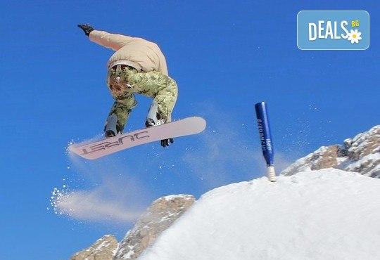 1 или 2 часа уроци по ски или сноуборд плюс оборудване за един човек от ски училище и гардероб Скиелит! - Снимка 2