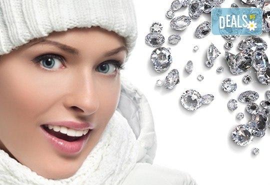 Диамантено микродермaбразио за Вашата освежена и тонизирана кожа и хиалуронова терапия с ултразвук в салон Kult Beauty! - Снимка 1