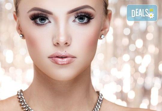 Изглеждайте страхотно с професионален грим - дневен, вечерен или опушен и идеално оформени вежди в салон Дани, Варна - Снимка 2