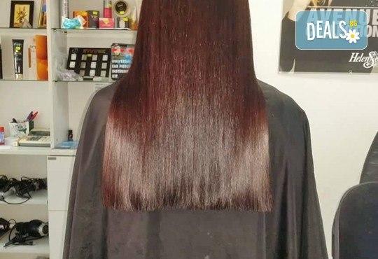 Оставете грижата за косата на професионалистите - боядисване на коса с боя на клиента в салон Госпожица Ножица, Варна - Снимка 4