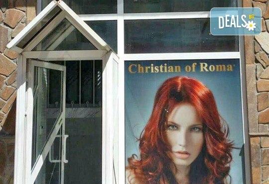 Оставете грижата за косата на професионалистите - боядисване на коса с боя на клиента в салон Госпожица Ножица, Варна - Снимка 5