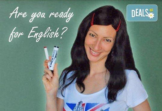 Съботно - неделен курс по Английски език за начинаещи в Езикова школа Imagine English, 48 учебни часа - Снимка 3