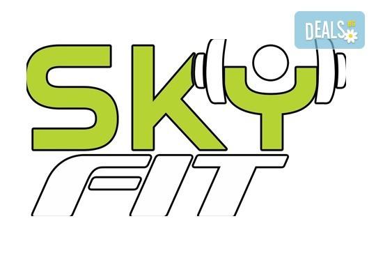 Бъдете във форма с месечна карта за неограничен достъп до фитнес или групови тренировки, безплатен сегментен анализ и индивидуален хранителен режим от Sky Fit! - Снимка 12