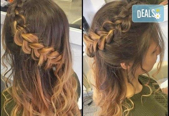 Освежете цвета на косата! Боядисване на корени на коса и оформяне със сешоар или преса в Салон Nails Club до Бизнес парк Младост! - Снимка 15