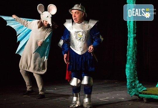 Каним Ви на смешна и забавна Приказка за Рицаря без кон в Младежки театър на 29.01. от 11ч., 1 билет - Снимка 3