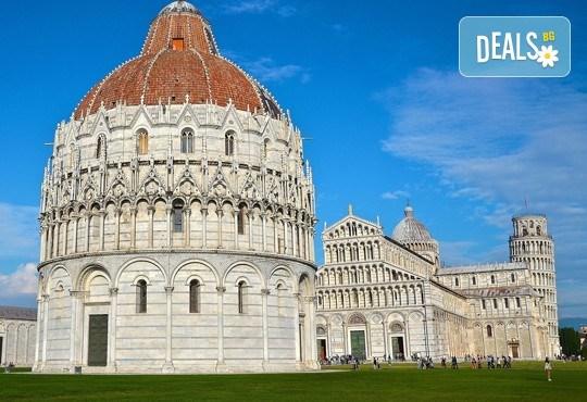 Уикенд екскурзия в Пиза, Италия: 3 нощувки със закуски в хотел 2*, двупосочен самолетен билет и летищни такси - Снимка 2