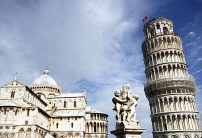 Уикенд екскурзия в Пиза, Италия: 3 нощувки със закуски в хотел 2*, двупосочен самолетен билет и летищни такси - Снимка
