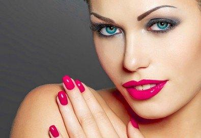 Добавете цветен и модерен акцент за красиви ръце с класически маникюр с лаковете на Golden Rose в Салон Виктория! - Снимка