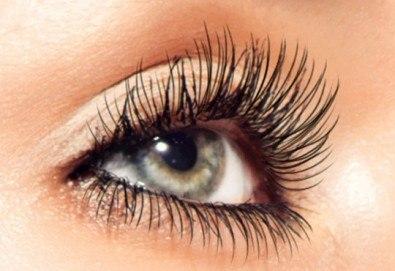 Завладяващи очи! Постигнете ги с поставяне на копринени мигли по метода ''косъм по косъм'' в NSB Beauty Center! - Снимка