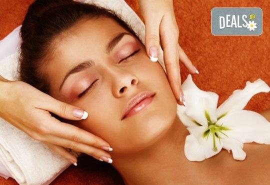 85-минутна антистрес терапия - релаксиращ масаж на цяло тяло и бонус по избор - точков масаж на стъпала, масаж на лице или детоксикация с мед на гръб - Снимка 3
