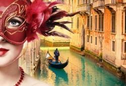 През февруари на карнавал във Венеция, Италия: 2 нощувки, закуски и транспорт
