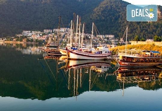 Екскурзия до Анталия - Фетие,Памуккале, Каш, Турция! 7 нощувки със закуски и вечери, двупосочен билет, летищни такси и трансфери - Снимка 5