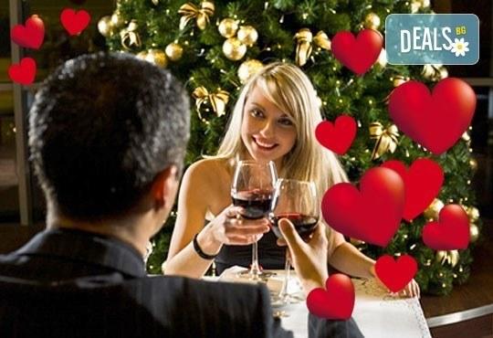 Искаш ли този куверт за Св. Валентин! Празнувай в Бадемовата къща, Панчарево - куверт за един човек с празнично меню! - Снимка 1