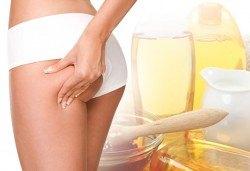 Оформете красива фигура без усилие! Антицелулитен масаж с мед и мляко на всички засегнати зони в салон за красота Sassy! - Снимка