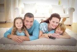 Машинно пране и подсушаване на килим, матрак или мека мебел от Корект Клийн