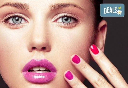 Покажете стил и елегантност! Класически маникюр с цвят по избор и две декорации от студио Фантастико - Снимка 2