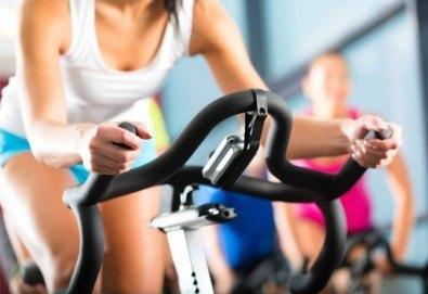 Раздвижете се и стопете излишните калории с 4 посещения на спининг от GL sport! - Снимка