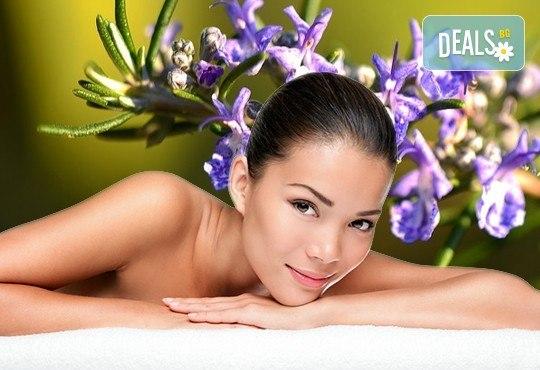 Динамичен детоксикиращ масаж с аромат на розмарин и цитруси за релаксация на тялото и укрепване на имунната система в студио Giro! - Снимка 1