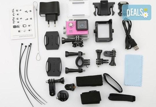За всички любители на екстремните изживявания! Запечатайте най-добрите си моменти с професионална, водоустойчива HD камера в цвят и параметри по избор от Параклакс! - Снимка 6