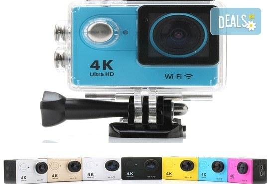 За всички любители на екстремните изживявания! Запечатайте най-добрите си моменти с професионална, водоустойчива HD камера в цвят и параметри по избор от Параклакс! - Снимка 1