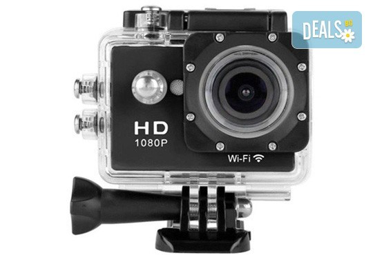За всички любители на екстремните изживявания! Запечатайте най-добрите си моменти с професионална, водоустойчива HD камера в цвят и параметри по избор от Параклакс! - Снимка 2