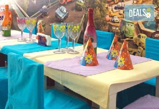 Детско парти за Рожден ден, за 10 или 20 деца! Аниматор, озвучаване, детско меню и шампанско и меню за възрастните, в клуб Мелиса! - Снимка 6