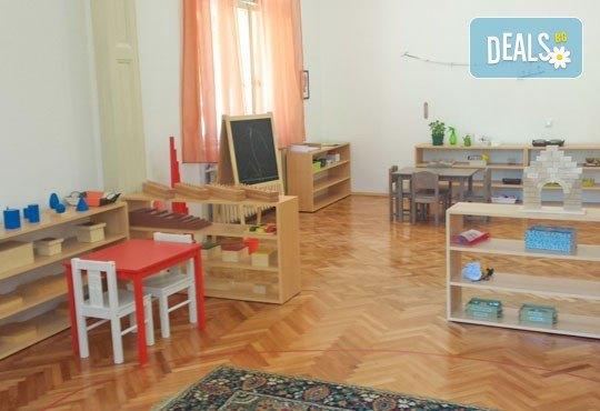 Един ден Монтесори занималня за деца от 2,5 г. до 7 г. в новата Цветна градина Монтесори в центъра на София! - Снимка 5