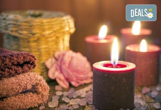 """Романтичен масаж """"Перфектния подарък"""" - за двама, с комплимент по чаша червено вино, романтична музика и свещи в салон Beauty Zone в Люлин 8! - Снимка 2"""