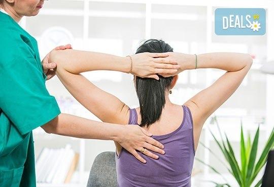 Подарете си 60-минутно бягство от стреса с дълбокотъканен антистрес масаж от професионален кинезитерапевт в RG Style! - Снимка 2