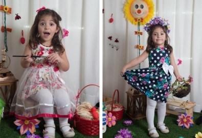 За всеки специален момент! Професионална детска или семейна фотосесия, външна или в студио и до 100 обработени кадъра от Arsov Image! - Снимка