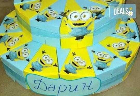 Една различна торта за всеки повод! Хартиена торта за рожден ден, парти в детската градина или кръщене от Арт Фантастико - Снимка 3