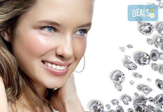 Освежете кожата си в обедната почивка! Диамантено микродермабразио, фотон терапия и регенериращ филър от NSB Beauty Center! - Снимка 1