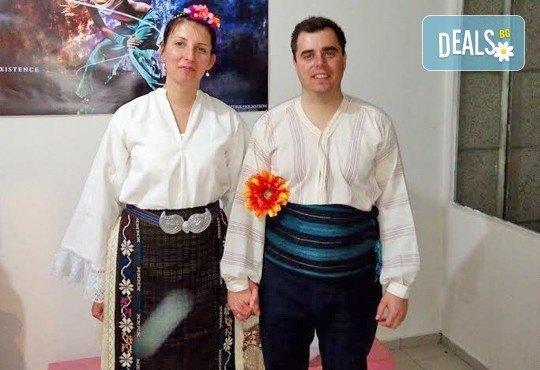 Раздвижете се в ритъма на българското хоро! 2 или 4 посещения на занимания по народни танци в клуб Вишана! - Снимка 5