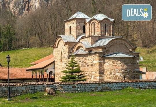 Еднодневна екскурзия в Сърбия през март с посещение на Погановски и Суковски манастири, транспорт от агенция Поход! - Снимка 1