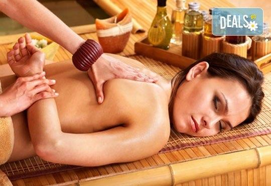 Отпуснете се с релаксиращ масаж на гръб и антистрес масаж на скалп в салон Addicted To Style, Варна! - Снимка 1