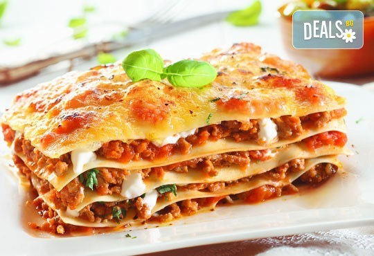 По изпитана италианска рецепта! Вземете лазаня по избор от кулинарна работилница Деличи! - Снимка 1