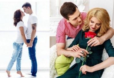 Незабравим Ден на влюбените! Подарете романтична фотосесия с неограничен брой кадри и с 20 обработени кадъра на открито от Olimpea Photography! - Снимка