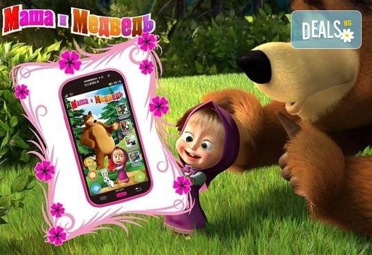Изненадайте мъника със забавна играчка - детски смартфон с български приказки и песни от Магнифико! - Снимка 1