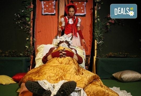 Театър за деца! Заповядайте на Червената шапчица в театър ''Възраждане на 11.02. от 11ч. или от 12.30ч, с билет за един! - Снимка 5
