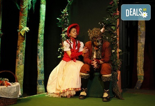 Театър за деца! Заповядайте на Червената шапчица в театър ''Възраждане на 11.02. от 11ч. или от 12.30ч, с билет за един! - Снимка 2