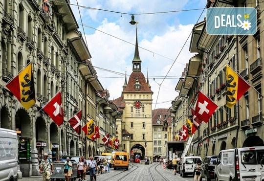 Самолетна екскурзия до Швейцария с посещение на Цюрих, Женева, Лозана, Страсбург и Базел! 4 нощувки със закуски и самолетен билет от София Тур! - Снимка 3