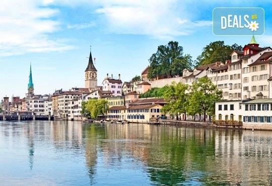 Самолетна екскурзия до Швейцария с посещение на Цюрих, Женева, Лозана, Страсбург и Базел! 4 нощувки със закуски и самолетен билет от София Тур! - Снимка 5