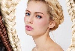 Укротете косата в нова прическа! Сплитане на косата в плитка по избор - водопад и диадема от студио Фантастико - Снимка