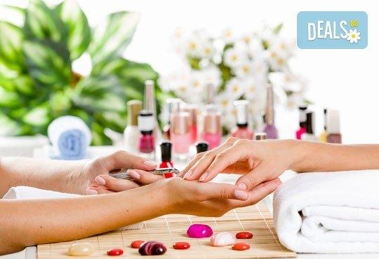 За по-здрави и красиви нокти! Заздравяване с UV гел върху естествен нокът от студио за красота Фантастико - Снимка 1
