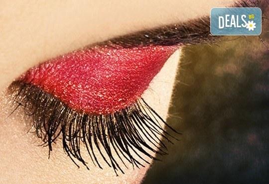 Приковаващ поглед! Удължаване и сгъстяване на мигли чрез поставяне на снопчета от студио Фантастико - Снимка 1