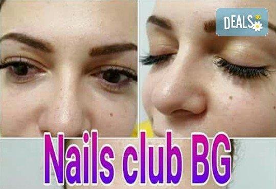 За неустоим поглед! Поставяне на мигли косъм по косъм в Салон Nails club в Младост! - Снимка 2