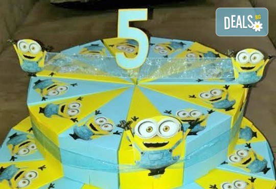 Една различна торта за всеки повод! Хартиена торта за рожден ден, парти в детската градина или кръщене от Арт Фантастико - Снимка 1