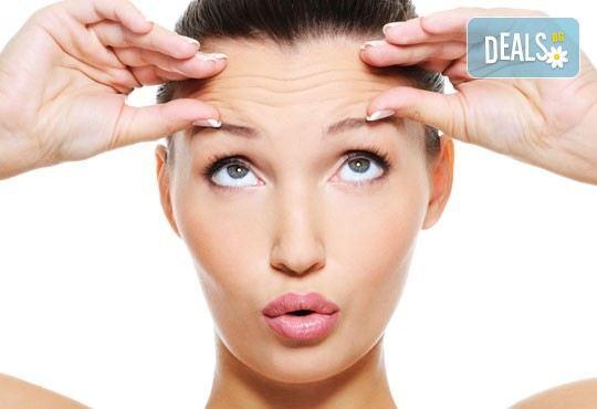 За гладка и мека кожа! Корекция на гънки, бръчки и околоочен контур с БОТОКС от SunClinic и д-р Светла Петкова - Снимка 2