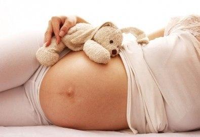 За бъдещата мама! Релаксиращ масаж за бременни с етерични натурални масла от алое, лайка и ароматен жасмин в SPA център Senses Massage & Recreation! - Снимка